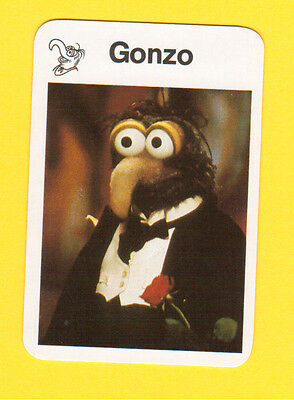 The Muppet Show Jim Henson 1978 German Card Gonzo B