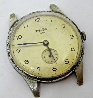 Gent's Vintage Roamer Swiss Made Hand Winding Mechanical Wristwatch