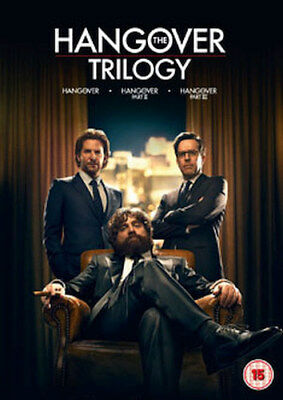 The Hangover - Trilogy (3 Films) Movie Collection Dvd [Uk] New Dvd