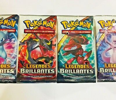 1 Booster  Legendes Brillantes SL 3.5 FRANCAIS  Neuf ! Scellé ! Pokemon