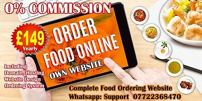 Online FOOD Ordering website, Takeaway, Pizza, Restaurant