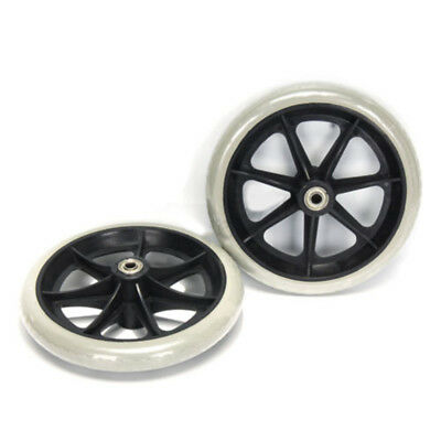 Wheelchair Wheels Wheel chair Front Castor Replacement 8 Inch 1 Pair Brand New