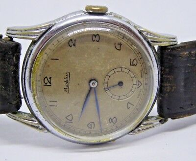 Gent's Vintage Montilier Swiss Made Hand Winding Mechanical Wristwatch