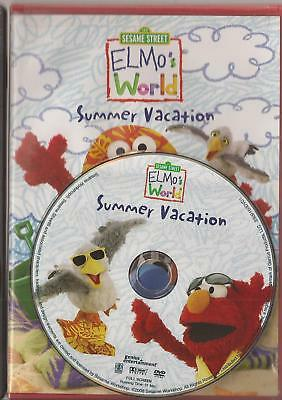Elmos World Summer Vacation Dvd 2008 U S Issue Disc Only Sesame Street