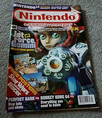 Nintendo Official Magazine Issue 82 - July 1999 Rare & Original