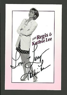 Kathie Lee Gifford Movie Film TV Star Hand Signed Autographed Photo