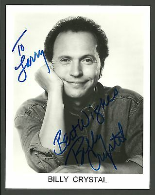 Billy Crystal Soap Monsters Inc Movie Film TV Star Hand Signed Autographed Photo