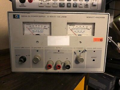 Hewlett-Packard (HP)/Agilent 6024A WORKING