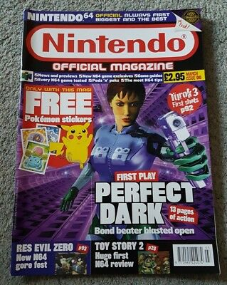 Nintendo Official Magazine Issue 90 - March 2000 Rare & Original