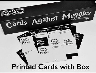 US SELLER Cards Against Muggles Based On Cards Against Humanity Harry Potter
