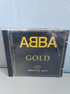 ABBA GOLD - GREATEST HITS CD preowned