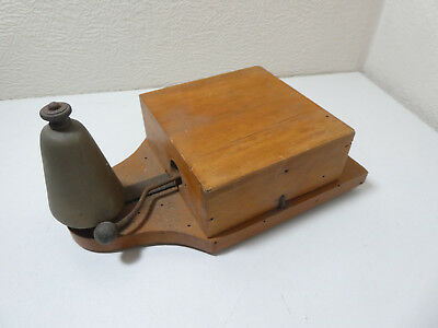 Vintage Door Servant Telephone Bell Box Low Voltage Electric
