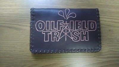 "Oil Field Leather Pipe Tally Book Cover 6.75"" x 4"" ( DDD)"