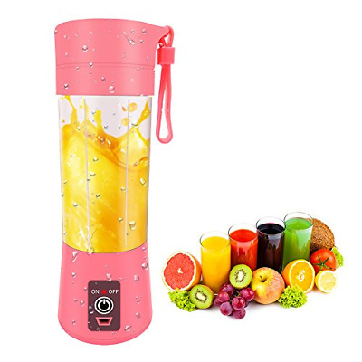 Portable Blender USB Rechargeable, Small Blender Single Serve, Personal Size Cup
