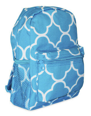 Moroccan Geometric Girls Mini Toddler Backpack Bag For Preschool