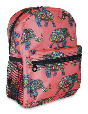 African Elephant Girls Mini Toddler Backpack Bag For Preschool