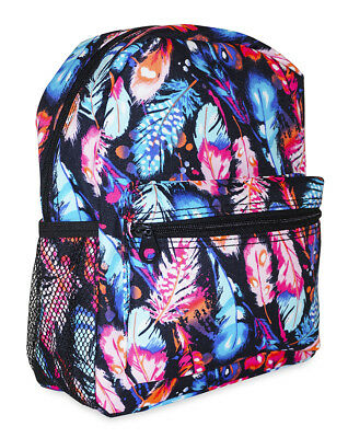 Peacock Feather Girls Mini Toddler Backpack Bag For Preschool