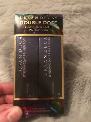Urban Decay Double Dose Eyeshadow Primer Potion 2 Pack 50% OFF GENUINE