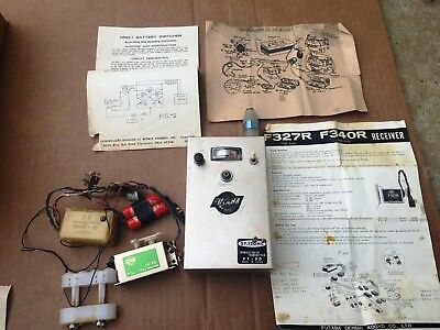 RARE Vintage Futaba FT-5D Transmitter with OS PIXIE A1 Receiver & FR-3G Servo