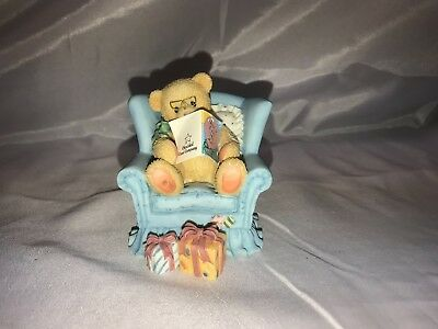 'Growing Better Each Year' - Cherished Teddies Collectible Teddy Bear figurine