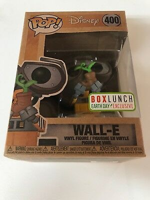 Funko Pop! Disney Wall-E #400 Box Lunch Earth Day Exclusive Mint