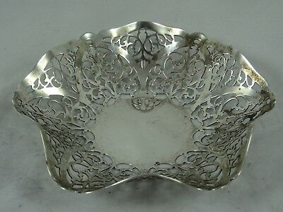 SOLID silver SWEET DISH, 1965, 93gm