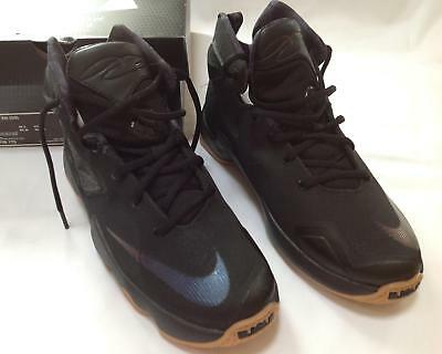 44f0915103a0 New boys Nike LEBRON JAMES XIII 13 black basketball shoes sneakers youth 7