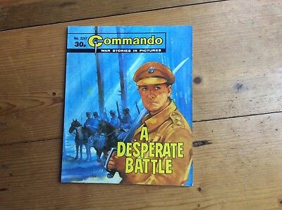 "Commando Comic,  ""A Desperate Battle"",  No 2247,  1989"