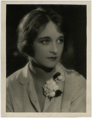 1920s Vintage Large Moody Ruth Harriet Louise Photograph Somber Eleanor Boardman