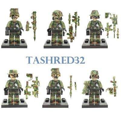 Police SWAT Police Military Mini Figures Weapon Minifigures fits Lego HOT Army