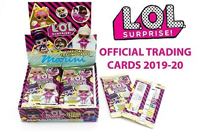 L.o.l. Lol Surprise! Official Trading Cards Card Figurine Panini Box 24 Bustine