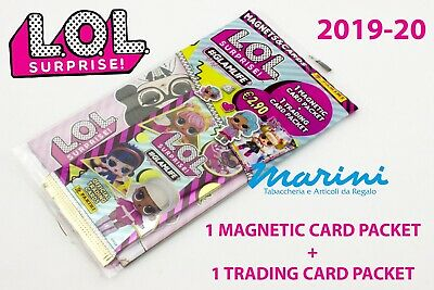 Lol Surprise! 2 Glamlife 2020 1 Magnetic Card Packet + 1 Trading Card Packet