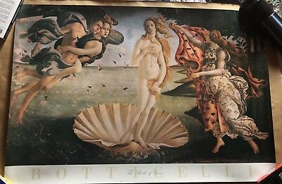 Sandro Botticelli The Birth of Venus Renaissance Painting Fine Art Print