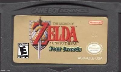The Legend of Zelda: A Link to the Past Four Swords PL Cartridge GBA Game