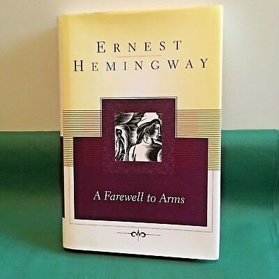 A  FAREWELL  TO  ARMS  by Ernest Hemingway - Hardcover & Dust Jacket
