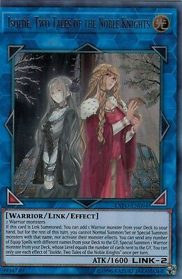 YUGIOH! Isolde, Two Tales of the Noble Knights SOFU-ENSE1 Super Rare