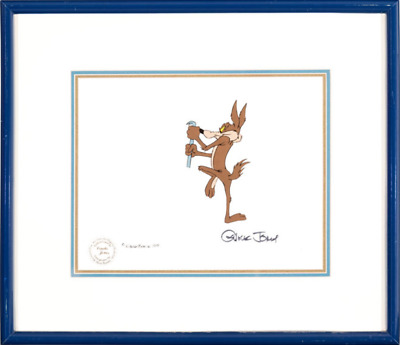 Bugs Bunny's Looney Christmas Tales Wile E. Coyote Production Cel 1979 Original