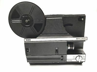 Bell & Howell Movie Projector 1620 Duel 8 MM & Super 8MM Autoload Needs New Bulb