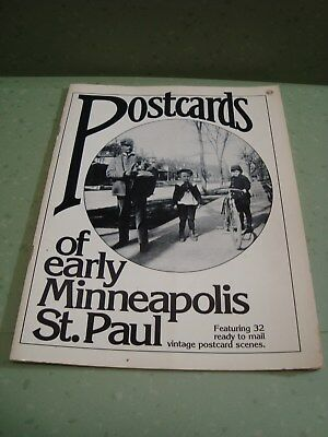 Vintage 1979 Postcards of Early Minneapolis St. Paul 32 Ready to Mail Scenes