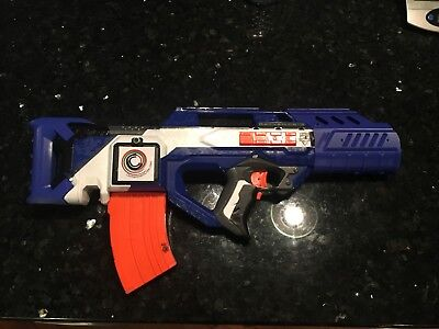 Nerf N-strike Rayven CS 18 Battery Powered Blaster Modified with upgrades