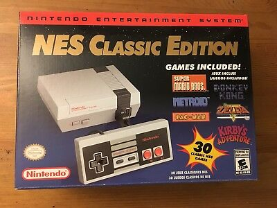 Authentic Nintendo NES Classic Edition Mini Game Console Brand New Fast Shipping