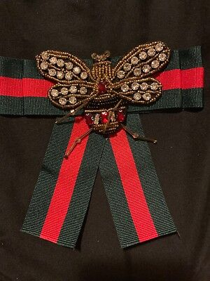 Red and Green Gucci Inspired Brooch Pen