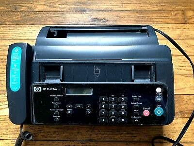 HP 2140 fax machine in very good useable condition
