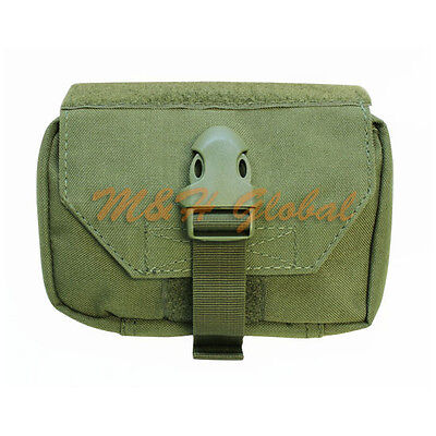 MOLLE First Response Pouch EMT EMS Medic Medical Aid Kit - OD Green