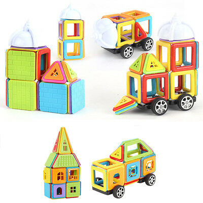 99pcs Magnetic Building Blocks Bricks Tile Construction Kid Educational Toy Gift