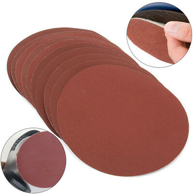 "Lot 25PCS 2"" 800 1000 1500 2000 3000Grit Hook Loop Mixed Sanding Disc Sandpaper"