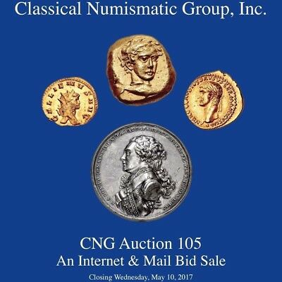 CNG 105 Ancient Greek, Roman, etc Coin Auction Catalog May 2017 328 pp.1246 lots