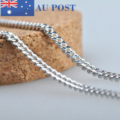 Women Girls Fashion Jewelry Stainless Steel Silver-Plated Side Chain Necklace
