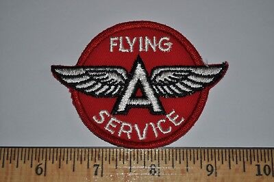 Vintage Flying A (Associated Oil) Gas Gasoline Uniform Service Station Patch NOS