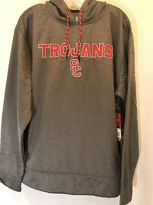 dd24d2f151e TEAM USC TROJANS Hooded Sweatshirt Small Pullover Hoodie Football ...